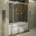 Фото 4374: Стеклянная шторка для ванн Радомир Ларедо
