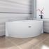 Фото 8942: Гидромассажная ванна Радомир (Wachter) Бергамо (форсунки хром)