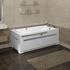 Фото 4535: Гидромассажная ванна ВЕГА WHITE серия Standard