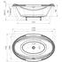 Фото 4333: Акриловая ванна без системы гидромассажа Радомир (Fra Grande) Гранада