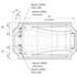 Фото 4020: Акриловая ванна без системы гидромассажа Радомир (Fra Grande) Эстелона с панелью