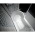 Фото 310: Стенка Радомир со стеклянной шторкой Chrome на ванну Валенсия