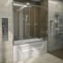 Фото 9124: Стеклянная шторка для ванн Радомир Ларедо
