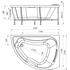 Фото 787: Акриловая ванна без системы гидромассажа Радомир (Radomir) Альбена