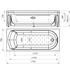 Фото 7176: Акриловая ванна без системы гидромассажа Радомир (Vannesa) Аврора 3